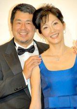 妻のがん早期発見を喜んだ(左から)高田延彦と向井亜紀 (C)ORICON NewS inc.