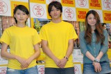 映画『ライヴ』公開直前記念イベントに出演した(左から)大野いと、山田裕貴、片平里菜 (C)ORICON NewS inc.