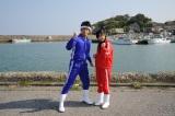 武井壮&指原莉乃がさまざまな漁に挑む! (C)テレビ朝日