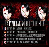 ワールドツアーの日程を発表したBABYMETAL
