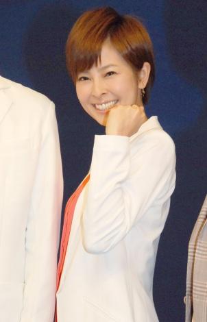 NHK・BS1『ザ・データマン〜スポーツの真実は数字にあり〜』取材会に出席した竹中三佳 (C)ORICON NewS inc.