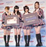 HKT48(左から)穴井千尋、指原莉乃、朝長美桜、森保まどか (C)ORICON NewS inc.