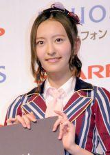 SHARP『AQUOSスマートフォン』キャンペーン発表会に出席したHKT48・森保まどか (C)ORICON NewS inc.
