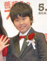 映画『薔薇色のブー子』完成披露舞台あいさつに出席した鈴木福 (C)ORICON NewS inc.