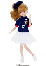 サッカー日本代表チームモデル リカちゃん 2014