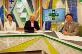 テレビ朝日の下平さやかアナウンサー(左)がアシスタントとしてレギュラー出演。池上彰氏に「いい質問ですね」と指摘され喜ぶ場面も (C)ORICON NewS inc.