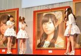 初お披露目された昨年の覇者・指原莉乃の肖像画=『AKB48選抜総選挙ミュージアム』オープニングセレモニー (C)ORICON NewS inc.