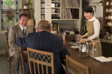27年ぶりに映画出演を果たした吉幾三(左)と、主演の吉永小百合(右)