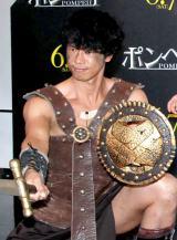 映画『ポンペイ』の公開記念イベントに出席した庄司智春 (C)ORICON NewS inc.