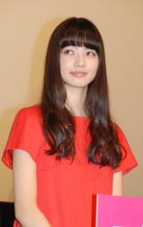 映画『渇き。』完成披露試写会に出席した小松菜奈 (C)ORICON NewS inc.