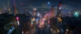 ディズニー・アニメーション映画『ベイマックス』(12月20日公開)の舞台「サンフランソーキョー」のコンセプトアート(C)2014 Disney. All Rights Reserved.