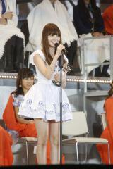 『第6回AKB48選抜総選挙』8位の小嶋陽菜 (C)AKS