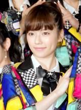 "『KYORAKU SURPRISE FESTIVAL 2014』スペシャルステージに登壇した""チームサプライズ""・島崎遥香 (C)ORICON NewS inc."