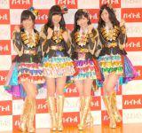 (左から)山本彩、指原莉乃、渡辺麻友、松井珠理奈 (C)ORICON NewS inc.