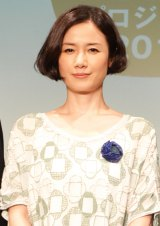 『AGF<ブレンディ>東北 器の絆プロジェクト』2014年度立ち上げ式に出席した原田知世 (C)oricon ME inc.