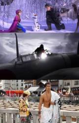 『アナと雪の女王』『永遠の0』『テルマエ・ロマエII』(C)2014 Disney.(C)2013「永遠の0」製作委員会(C)2014「テルマエ・ロマエII」製作委員会
