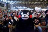 写真はくまモンが初参加した『JAPAN EXPO 2013』の模様。今年も参加します!