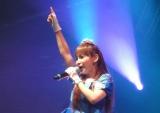 フランス・パリで開催中の『第15回 JAPAN EXPO』で全12曲を熱唱した中川翔子