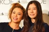 初の母娘2ショットを披露した、Chara(左)とSUMIRE (C)oricon ME inc.