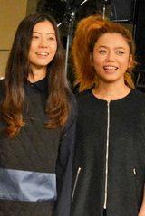 新ブランド「KOE」発表会で、初の母娘共演を果たしたChara(右)とSUMIRE (C)oricon ME inc.