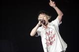 念願の京セラドームのステージに立ったUVERworld(写真はボーカルのTAKUYA∞)