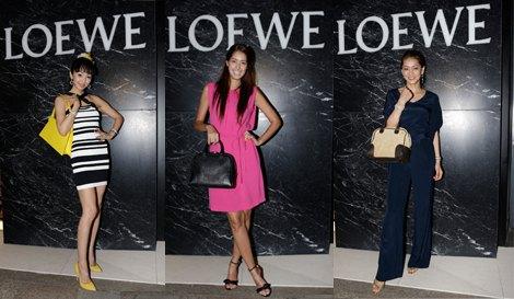 「CASA LOEWE Omotesando」レセプションパーティーに来場したセレブリティたちのトレンドファッション