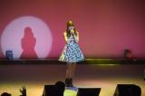 「J Summer Festa 2014」で熱唱する内田彩