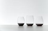 グラスの脚と台座の無いワインタンプラー「リーデル・オー シリーズ」