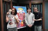 『第7回したまちコメディ映画祭in台東』で内山勇士監督(中央)のショートアニメ『野良スコ』を一挙上映。映画祭とコラボした新作にはいとうせいこう(右)、LiLiCo(左)がゲスト出演