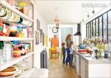 『パリのおいしいキッチン』(主婦の友社) 家族で料理のできるキッチン