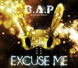 B.A.P日本4thシングル「EXCUSE ME」TYPE-A