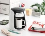 会社のデスクにもピッタリ! 淹れたてのコーヒーが手軽に楽しめる『1カップコーヒーメーカーC311WH』