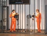 牢獄の中でアフレコ=映画『ガーディアンズ・オブ・ギャラクシー』イベント (C)ORICON NewS inc.