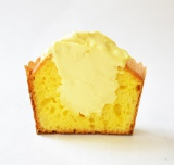 「冷やしマフィン」(レモン×レモンヨーグルトクリーム)