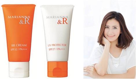 デルでタレントの長谷川理恵が聖マリアンナの皮膚科学研究チームとBBクリーム&UVクリームを共同開発