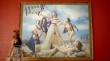 ドラクロワの名画「民衆を導く自由の女神」に扮したローラ/「PEACH JOHN」新CM