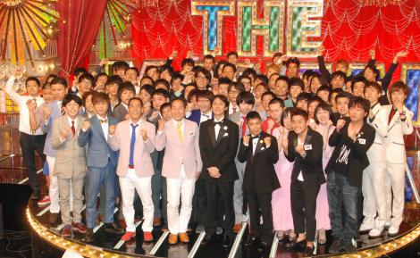 『THE MANZAI 2014』MC・ナインティナインと認定漫才師たち (C)ORICON NewS inc.
