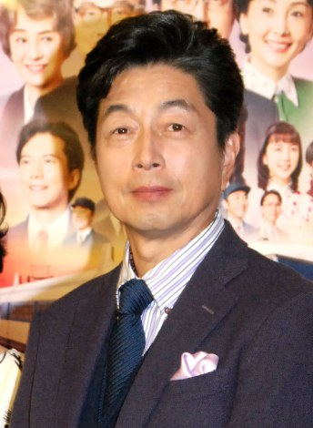 NHKスペシャルドラマ『妻たちの新幹線』で主演を務める中村雅俊 (C)ORICON NewS inc.