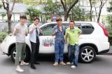 新番組『ポンコツ&さまぁ〜ず』が10月よりスタート (左から)児嶋一哉、狩野英孝、大竹一樹、三村マサカズ (C)テレビ東京