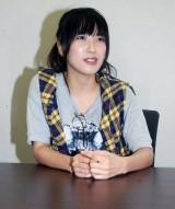 インタビューでは、NON STYLE・井上裕介との熱愛疑惑を払拭した佐藤聖羅 (C)ORICON NewS inc.