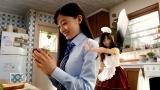 女子高生と妖精の二役を演じる橋本環奈