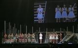 新メンバー4名の発表時=モーニング娘。'14『コンサートツアー秋 GIVE ME MORE LOVE〜道重さゆみ卒業記念スペシャル〜』