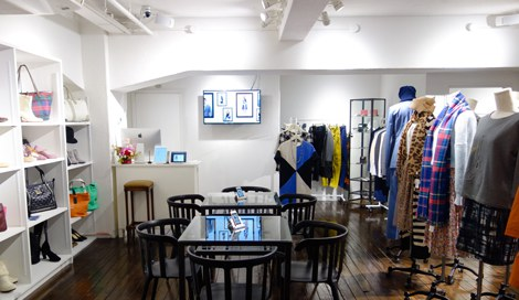 セレクトショップ「THE STYLIST STORE(ザ・スタイリスト・ストア)」(東京・渋谷区) 店内の様子
