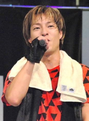 ニューシングル「New Position」発売記念イベントを行ったDA PUMP・DAICHI (C)ORICON NewS inc.
