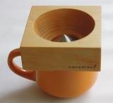 カナダ発の木製コーヒードリッパー『Canadiano(カナディアーノ)』(税込1万4900円)