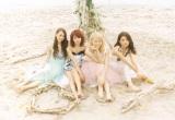 Dreamが約1年半ぶりのシングル「ダーリン」のMVを公開(左から)Shizuka、Aya、Ami、Erie