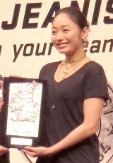 『ベストジーニスト2014』を受賞した安藤美姫 (C)ORICON NewS inc.