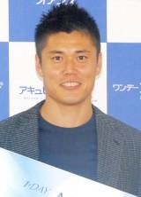 サッカー日本代表GK・川島永嗣選手がインターナショナルサッカースクールのアンバサダーを担当 (C)ORICON NewS inc.