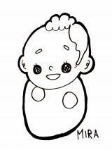 滝口ミラ直筆の長男のイラスト
