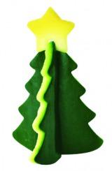 パーティーやお弁当のデコレーションにピッタリ! 『ベジタブルトイ』(税込216円/小久保工業所)クリスマスツリー